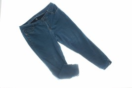 Celebrity Pink Womens Jegging 18 Dark Blue Wash Skinny Fitted Casual Pants - $18.80