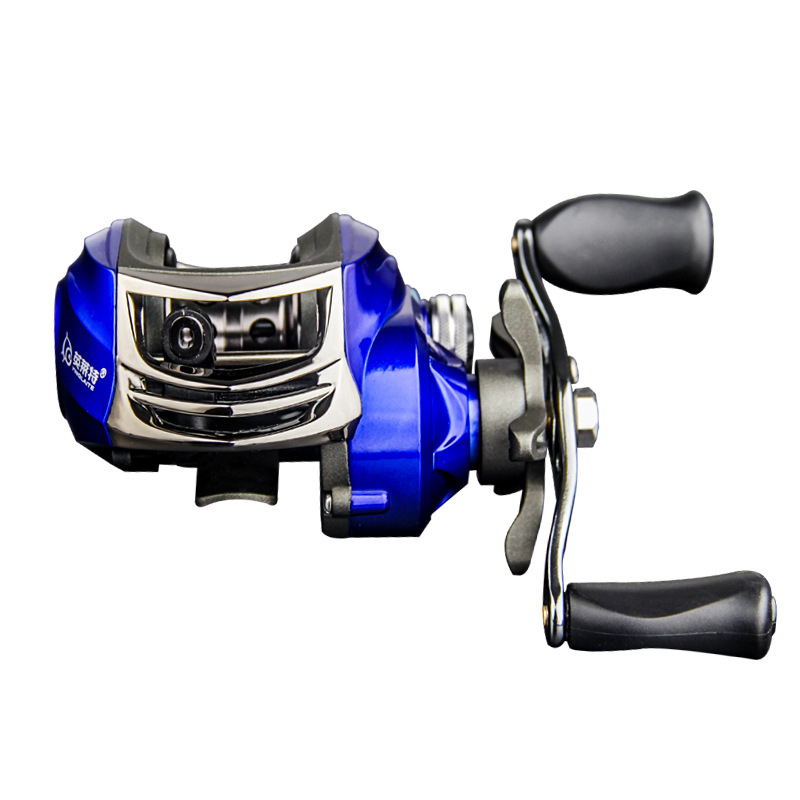 ZANLURE YLT100 6.3:1 10+1 BB Metal Fishing Baitcasting Reel Magnetic Brake Left/