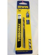 Irwin Turbomax  7/32 in. Dia. x 3-3/4  L High Speed Steel  Drill Bit 73314 - $5.59