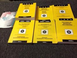 1994 JEEP CHEROKEE & WRANGLER Service Shop Repair Workshop Manual Set W ... - $237.55