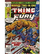 Marvel Two-In-One Comic Book #26 The Thing and Nick Fury Marvel 1977 FINE+ - $3.75