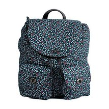 Coach Ranch Floral Nylon and Leather Backpack Tote - #F59434 image 3