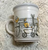 Vintage BILTONS Made in England Porcelain Teddy Bears Crossing Street Co... - $7.00