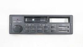 BMW Factory CM5905 Radio Head Unit Face Plate Vol Knob E30 E28 E32 1982-1993 OEM - $49.50