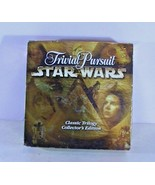 Star Wars Trivial Pursuit Classic Trilogy Collectors Edition Game - $19.57