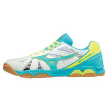Mizuno WAVE MEDAL 5 Men's Table Tennis Shoes White Indoor Shoes NWT 81GA... - $89.91
