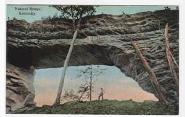 Natural Bridge Kentucky 1910c postcard - $6.44