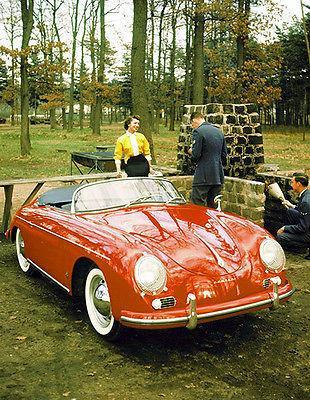 Primary image for 1956 Porsche Type 356A Speedster - Promotional Photo Poster