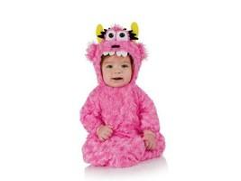 Underwraps Belly Babies Buntings Pink Monster Kid's Halloween Costume New - $19.79