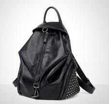 Women Travel Real Leather Backpack Messenger School Book Backpack Rucksa... - €32,45 EUR