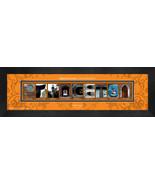 Personalized Princeton University Campus Letter Art Framed Print - $39.95