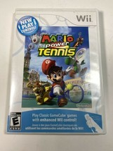 Mario Power Tennis (Nintendo Wii , 2009) Tested Complete With Manual - $12.86