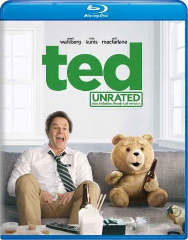 Ted     (Blu-Ray)  New Packaging