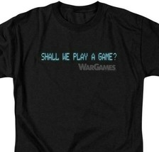 War Games t-shirt Shall We Play A Game? retro 80's movie graphic tee MGM304 image 2