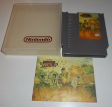 VINTAGE ORIGINAL NINTENDO NES 1988 OPERATION WOLF VIDEO GAME & MANUAL TAITO - $14.03