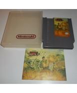 VINTAGE ORIGINAL NINTENDO NES 1988 OPERATION WOLF VIDEO GAME & MANUAL TAITO - $14.03