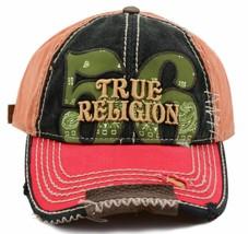 True Religion Men's Premium Cotton Vintage Distressed Trucker Hat Cap TR1690 image 2