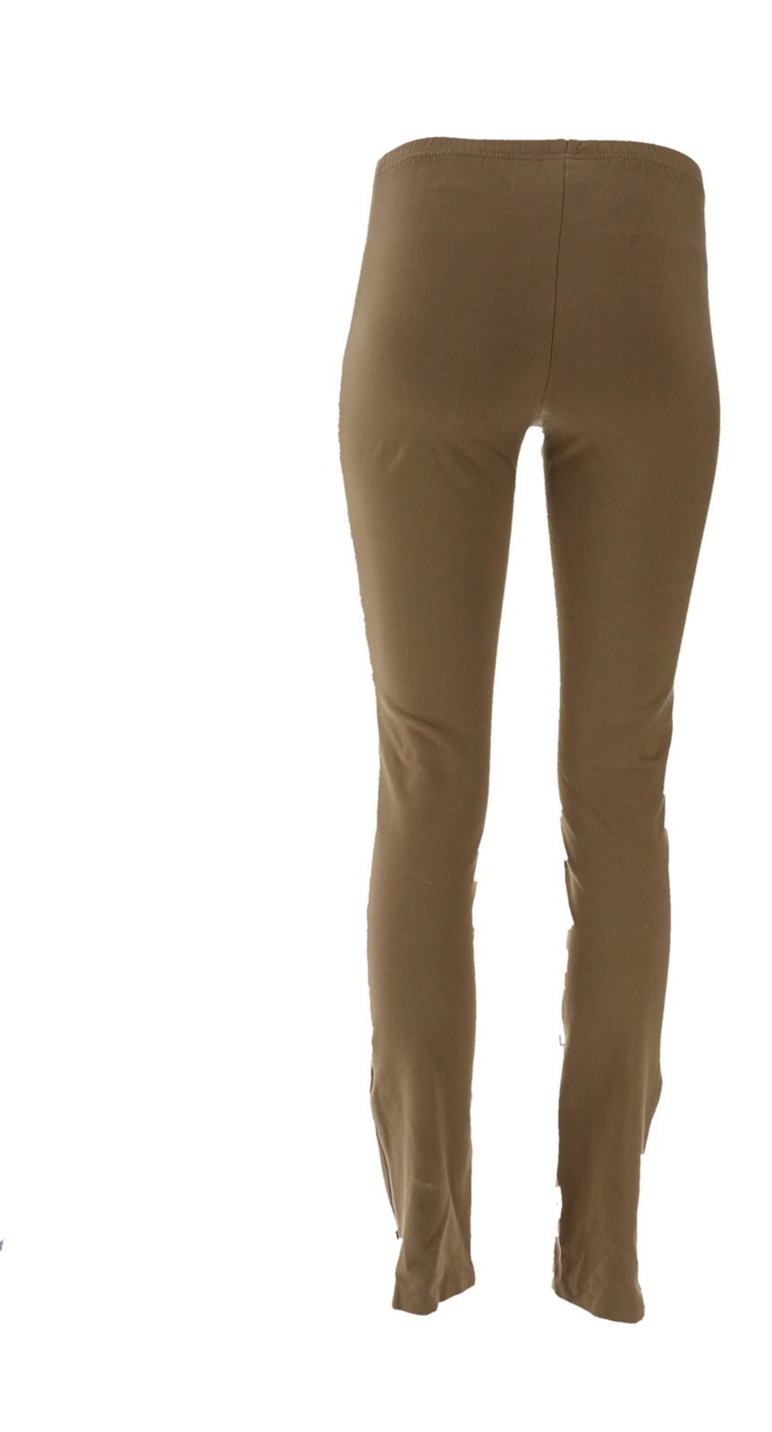 Women with Control Convertible Pants Zipper Safari Taupe XXS NEW A301320