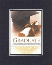 For Graduations - Graduate. . . 8 x 10 Inches Biblical/Religious Verses set in D - $11.14
