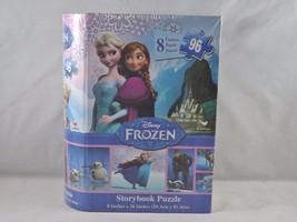 Cardinal Disney Frozen Storybook Puzzle - New - 8 Puzzle Panels - 96 pc - $12.34