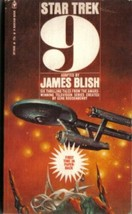 Star Trek 9 Paperback Book James Blish Bantam 1975 FINE+ - $3.99