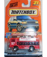 """1998 Matchbox """"Power Truck"""" #21 of 100 Vehicles Mint Vehicle On Sealed Card - $4.00"""