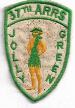 Us Army 37th Arrs Team Jolly Green At Danang Air Base Vintage Vietnam Patch - $10.88