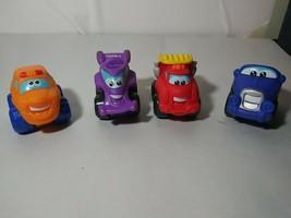 Tonka Chuck and Friends Mini Cars, Trucks, Vehicles  Lot of 4 (LOT 2) 2005-2009 - $9.49