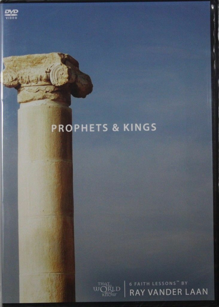 Primary image for Faith Lessons Volume 2 Prophets & Kings Ray Vander Laan NEW Christian DVD