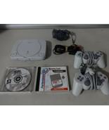 Entièrement Testé Playstation 1 Ps One Fin Console Système W/Cordons & 2... - $52.99