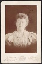 Carrie R. Gleason Cabinet Photo - Gardiner, Maine - $17.50