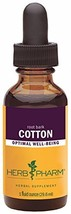 Herb Pharm Certified Organic Cotton Root Liquid Extract - 1 Ounce - $24.01