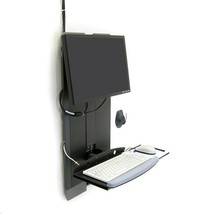 Ergotron Styleview Vertical Lift Mounting Kit For 24 Monitor 60-593-195 - $525.87