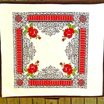 Vintage Startex Linen Kitchen Tea Towel Table Cloth Wonder-Dri - $18.00