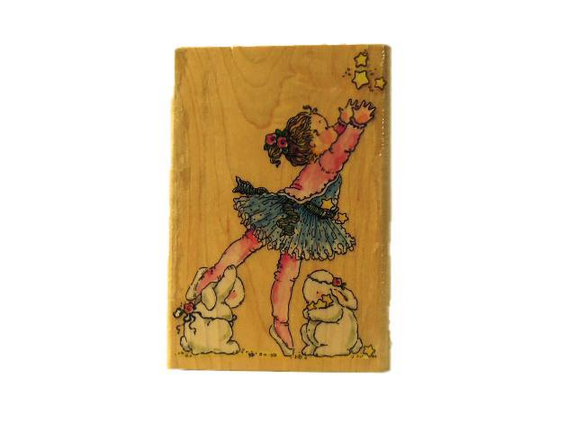 Penny Black-Reach For the Stars-Rubber Stamp- #4078K