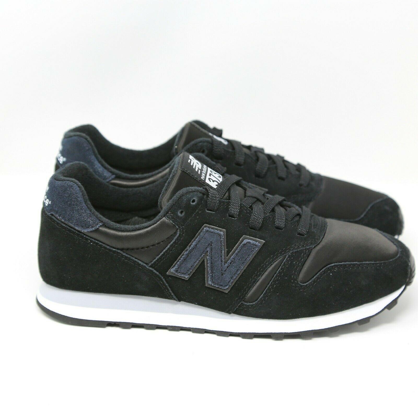 New Balance Nb 373 WL373KSP Negro Plata Visón Mujer Talla 8 Eur 39 UK 6 Running image 8