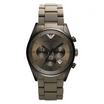Emporio Armani AR5951 Grey Sports Silicone Quartz Chronograph Ladies Watch - $149.99
