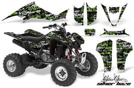 ATV Decal Graphic Kit Wrap For Suzuki LTZ400 Kawasaki KFX400 2003-2008 SSSH G K - $168.25