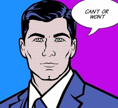 """Roy Lichtenstein """"Can't or Won't"""" HD print on canvas huge wall picture 2... - $24.74"""