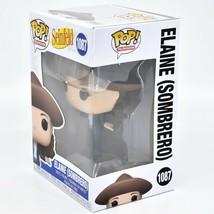 Funko Pop! Television Seinfeld Elaine Benes w Sombrero #1087 Vinyl Action Figure image 2