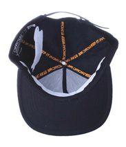 Official Crown Black Luxury Brushed Wool Stato Dorada Strapback Baseball Hat NWT image 7