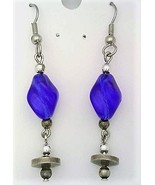 Art glass bead fashion earring  4  thumbtall