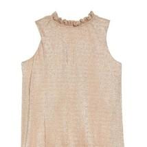 Kids's Kate Spade Gold Metallic Ruffle Dress sz 12 - $57.02