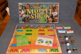 The Muppet Show Board Game [100% COMPLETE] Parker Brothers 1977 - $12.00