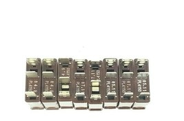 LOT OF 8 NEW DAITO PL4150 ALARM FUSES SERIES PL4 FAST ACTING BROWN 15AMP