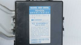 95-97 LS400 DCR Keyless Entry Door Control Receiver Module & Fob 89741-50131 image 3