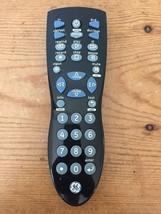 General Electric GE Universal TV DVD CBL DVR Remote Control Model RC24914E Black - $7.99