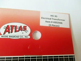 Atlas # 4002066 Electrical Transformers 3 Pieces 3D Printed Accessories HO Scale image 2