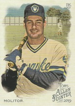 2019 Topps Allen and Ginter #51 Paul Molitor  - $0.50