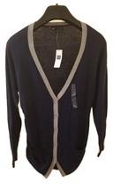 NWT Gap Woman Cardigan Size M Blue Gray Long Sleeve Dressy Special Occasion Wear - $5.00